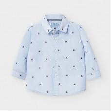 Mayoral-Риза с дълъг ръкав с щампи панди