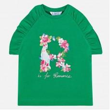 Mayoral-Блуза с цветна буква R