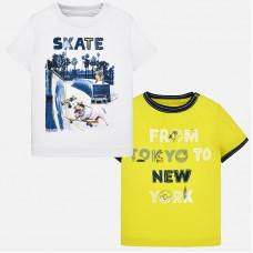 Mayoral-Тениска с весел принт