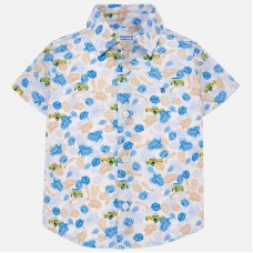 Mayoral-Риза къс ръкав цветен принт