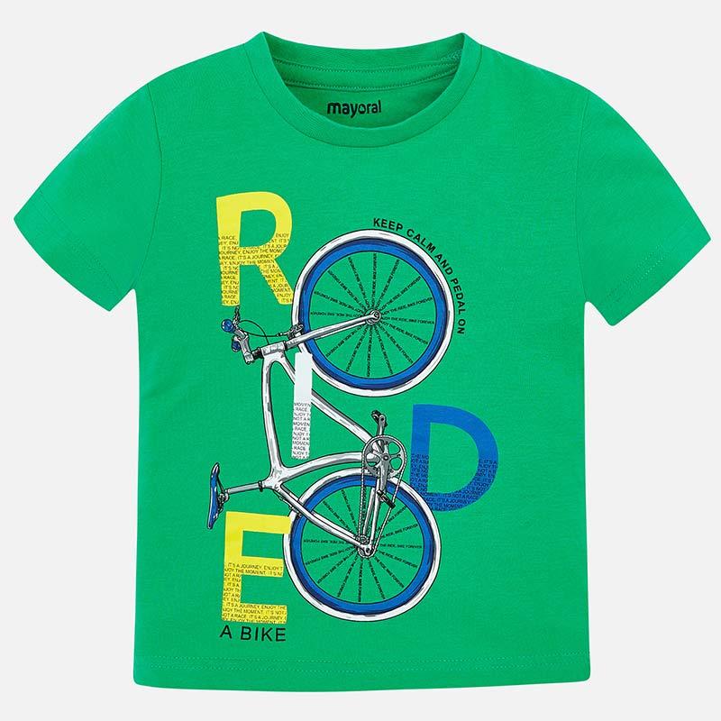 Mayoral-Тениска с принт велосипед