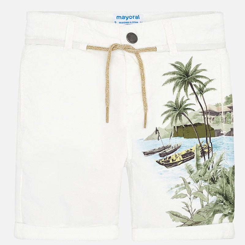 Mayoral-Къси панталони с принт