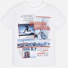 Mayoral-Тениска с цветен принт