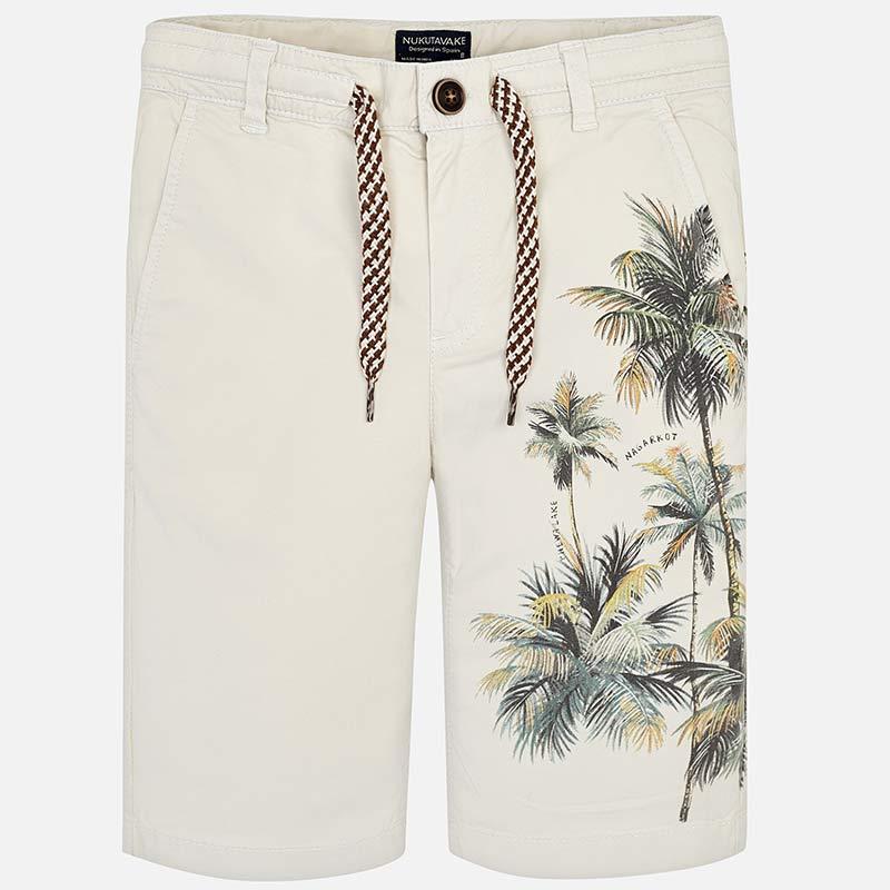 Mayoral-Къси панталони с принт палми