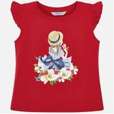 Mayoral-Блуза с къдрички на рамената