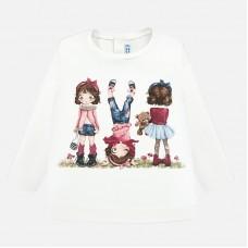 Mayoral-Блуза с принт момичета