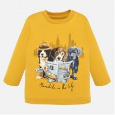 Mayoral-Блуза с принт кученца