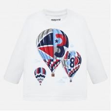 Mayoral-Блуза с принт балони