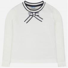 Mayoral-Блуза с апликация панделка