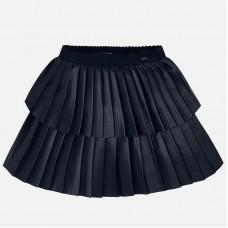 Mayoral-Плисирана кожена пола