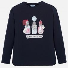 Mayoral-Блуза с принт парфюми
