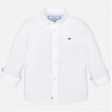 Mayoral-Риза с дълъг ръкав едноцветна