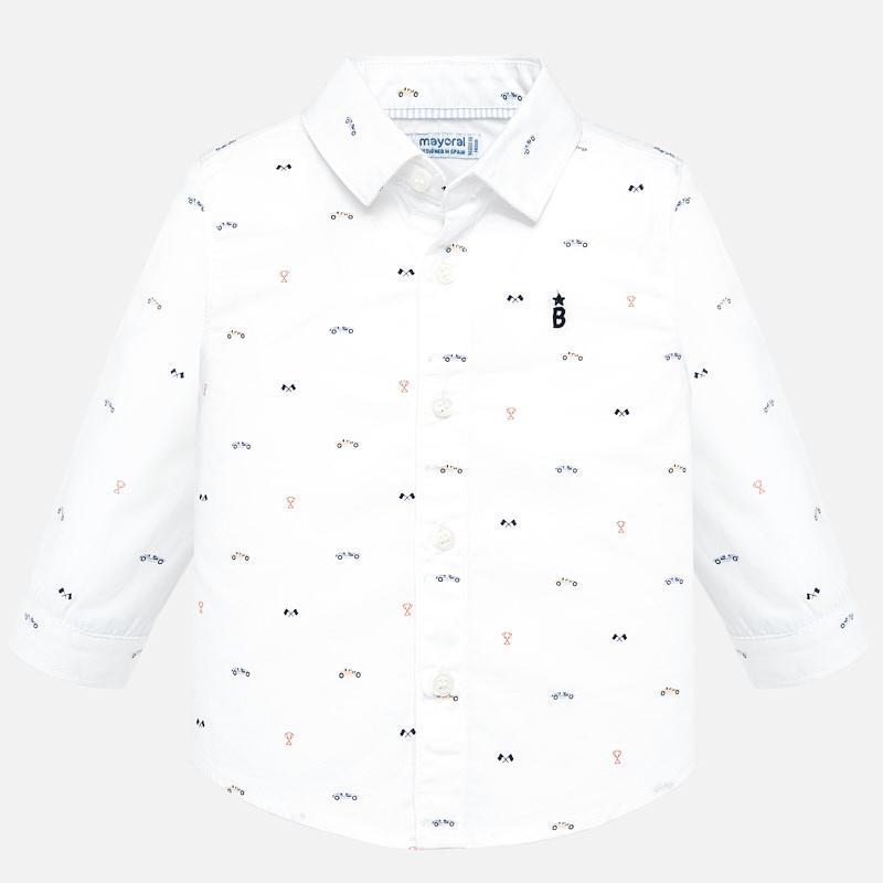 Mayoral-Риза с щампа автомобили