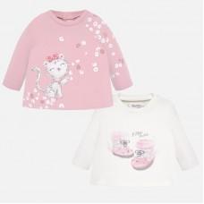 Mayoral-Блуза с щампа бебешки боти