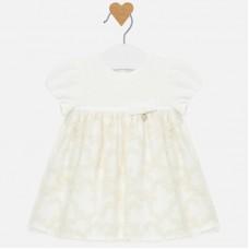 Mayoral-Бебешка рокля с бродерия.