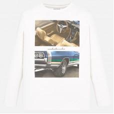 Mayoral-Блуза дълъг ръкав с принт кола