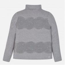 Mayoral-Поло блуза с дантела
