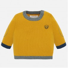 Mayoral-Бебешки пуловер с кант