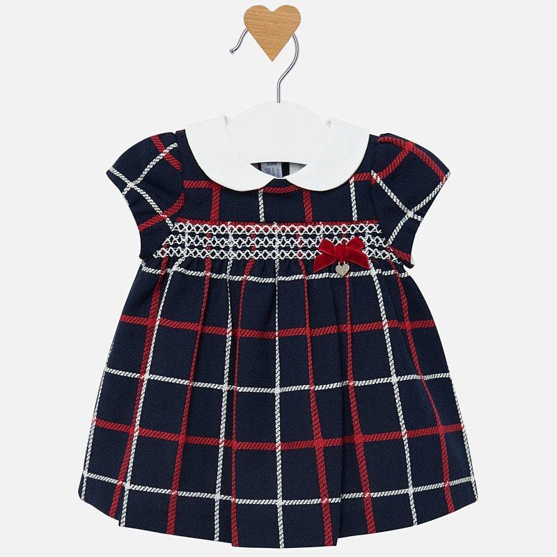 Mayoral-Бебешка рокля каре