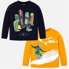 Mayoral-Блуза с принт сноубордист