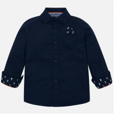 Mayoral-Елегантна риза с щампа точки