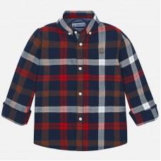 Mayoral-Риза дълъг ръкав каре