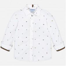 Mayoral-Елегантна риза с щампа мотиви