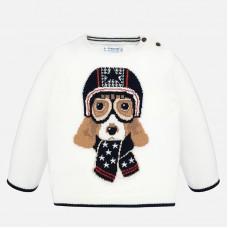 Mayoral-Пуловер за момче с бродерия кученце