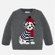 Mayoral-Пуловер за момче с бродерия куче далматинец