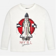 Mayoral-Блуза с принт ракета