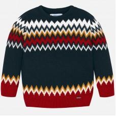 Mayoral-Цветен пуловер