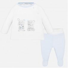 Mayoral-Бебешки комплект с апликация зайчета