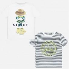 Mayoral-Тениска за момче рае и щампа