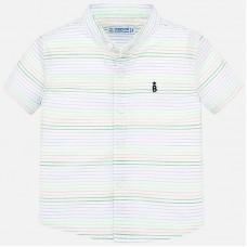 Mayoral-Риза с къс ръкав цветни раета
