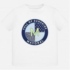 Mayoral-Тениска с къс ръкав и цветен принт