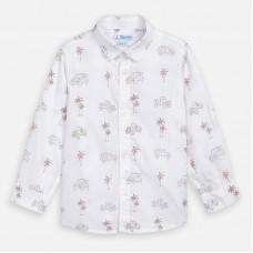 Mayoral-Риза с дълъг ръкав мини щампи