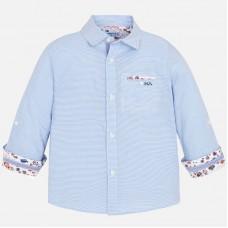 Mayoral-Риза  дълъг ръкав с контростни детайли