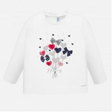 Mayoral-Блуза с принт цветни сърца