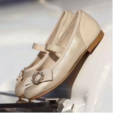 Mayoral-Обувки тип балерина-церемония
