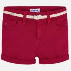 Mayoral-Къси панталони с колан за момиче