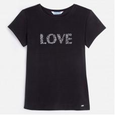 Mayoral-Тениска с къс ръкав LOVE