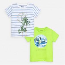 Mayoral-Тениска  къс ръкав с принт windsurfing