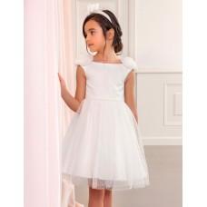 Mayoral-Официална рокля тюл скреж блясък