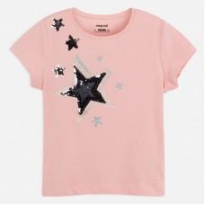Mayoral-Тениска  къс ръкав с принт звезди