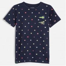 Mayoral-Тениска  къс ръкав с дребни щампи