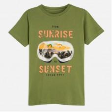 Mayoral-Тениска  къс ръкав с цветна щампа Sunrise