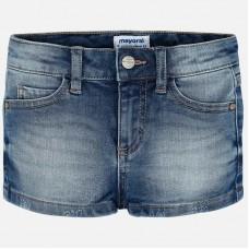 Mayoral-Къси дънкови панталони тип шорти за момиче