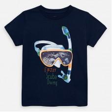 Mayoral-Тениска  къс ръкав с цветна щампа маска