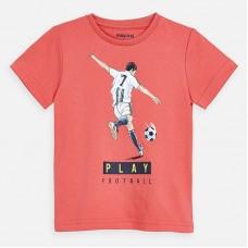 Mayoral-Тениска къс ръкав с принт футболист
