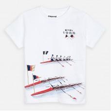 Mayoral-Тениска къс ръкав с принт морски спорт